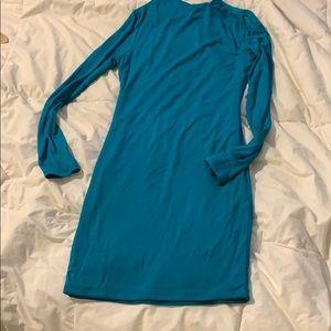 Brand new w/ tags naked wardrobe long sleeve dress